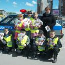 Госавтоинспекция Бердска провела акцию «Подмигни мотоциклисту!»