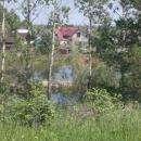 Топит дачи в Нижней Ельцовке. Советский район Новосибирска