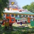 В Новосибирске из горящего детсада эвакуировали 150 детей