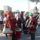 «Играй, гармонь!» - жители Бердска радостно встречали артистов