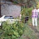 Две иномарки улетели в кювет в Бердске