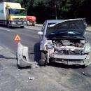 Из-за излишней вежливости в Бердске столкнулись два автомобиля