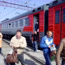 Подробности: электричка в Бердске таранила КамАЗ