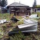 Пьяный на «семерке»  влетел в огород частного дома в Бердске