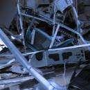 """Ночью взорвали банк """"Левобережный"""" в Бердске и украли деньги из терминала"""