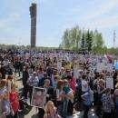 Видео: Более 2000 жителей Бердска встали в Бессмертный Полк