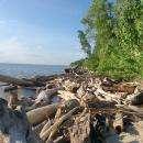 Прикольный берег за Чайкой