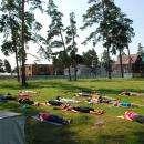 Уличная йога в Бердске набирает все больше сторонников