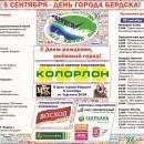 День города Бердска-2015 стоит более 1,5 млн рублей