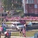 Видео: Супруги-пенсионеры пострадали в автоаварии у «Гермеса» в Бердске