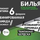 В Бердске пройдет чемпионат по бидьярду «Комбинированная пирамида»