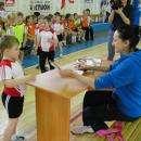 Олимпийская чемпионка Ирина Минх раздала детсадовцам автографы