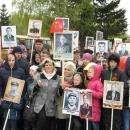Видео. Около 6000 жителей Бердска встали в Бессмертный полк 9 Мая