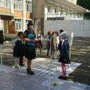 Мобильный автогородок путешествует по детсадам и школам города Бердска