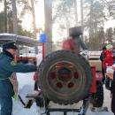 Видео. Бердские спасатели провели день открытых дверей для семей сотрудников МЧС