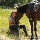 Руководитель конного клуба «Аллюр» Римма Воротникова