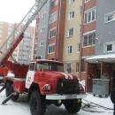 Горит чердак шестиэтажки на ул. К. Маркса в Бердске