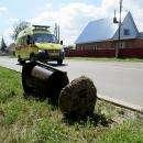 Вандалы сломали 7 мусорных урн на ул. Островского в Бердске