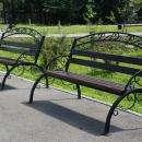 Можно подарить парку именные скамейки