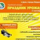 Газонокосилку подарят в День города Бердска на конкурсе урожая