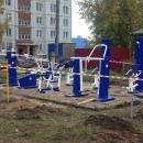 12 спортивных тренажеров появятся во дворах Бердска до конца октября
