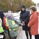 35 водителей Бердска получили письма от юных инспекторов движения