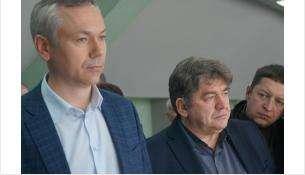 Андрей Травников и Евгений Шестернин (на фото слева направо)