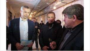 Андрею Травникову показали отделение ЦГБ, в котором идет капремонт