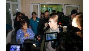 В больнице никого заранее не предупреждали о приезде столичной дивы