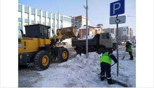 За зиму в Бердске вывезено около 30 тыс. кубометров снега