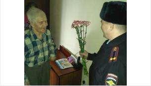 Ветеран Великой Отечественной войны Краснов Михаил Алексеевич