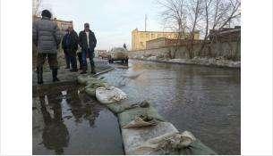 В Бердске сделают обваловку подтопляемых территорий
