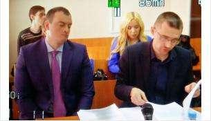 Сергей Копырин и его адвокат Михиал Герасцын