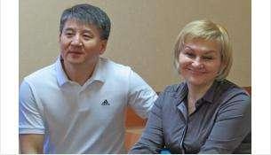 Леонид и Наталья Ким