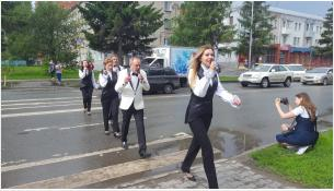 Мини-тур вокального ансамбля Павла Шаромова
