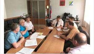 Рабочее совещание по дому дольщиков Стройинвестпроекта в Бердске