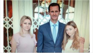 Лариса Матвеева с дочерью фотографировались с Башаром Асадом