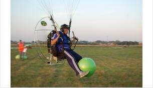 Спорт сверхлёгкой авиации – в небе над Бердском соревновались пилоты