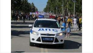 Бердск находится под защитой областного полка ДПС