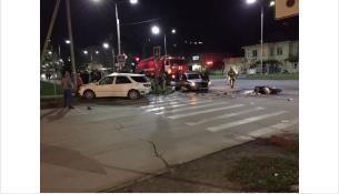 ДТП произошло на перекрёстке улиц Ленина и Суворова