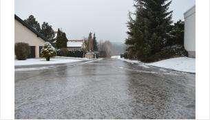 В некоторых районах области уже выпал снег