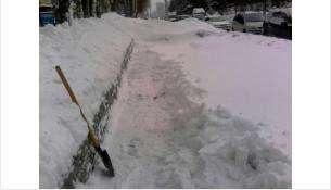 . Зимнее содержание придомовых территорий остаётся на особом контроле администрации