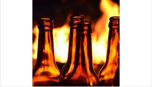 Алкоголь и сигареты стали причиной пожара
