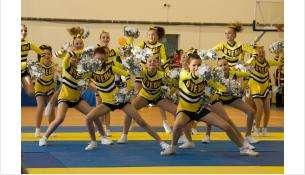 Чир-лидеры «Пчелы» из Бердска