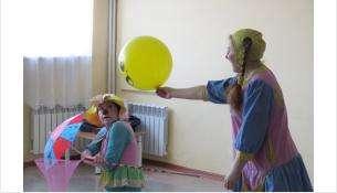 Шпулька и Кулёма - профессиональные больничные клоуны