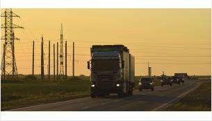 Проезд грузовиков в местах ограничения движения стоил 920 рублей