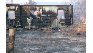 После пожара в поселке Курундус возбудили уголовное и административные дела