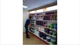 В магазине представлен широкий ассортимент высококачественной лакокрасочной продукции