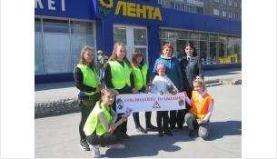 «Пешеход, берегись, безопасности учись!» - в Бердске состоялась акция ГИБДД