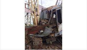 Металлическая балка насмерть придавила крановщика в Куйбышеве